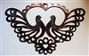 Ornamental Scroll Doves