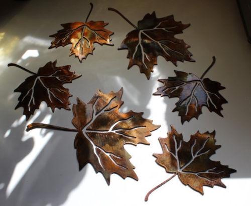 Maple Leaf Set Of 6