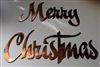 """Merry Christmas"" Metal Wall Art Decor"