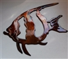 Moorish Idol Fish 2 copper/bronze