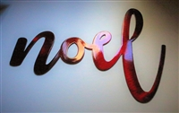 noel metal wall art accent