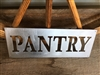PANTRY Country Rustic Metal Wall Art