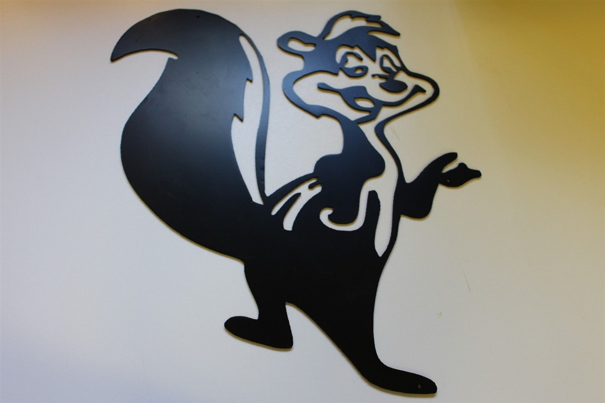 Pepe Le Pew Metal Art Decor
