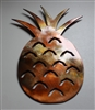 Pineapple Copper/Bronze Metal Wall Art