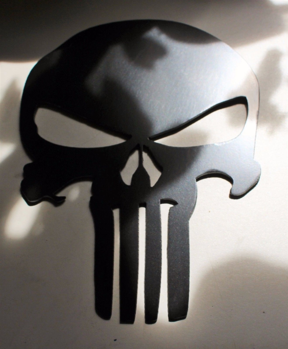 Tall Metal Wall Art Punisher242