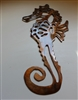 Seahorse Metal Wall Art Decor by HGMW