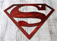 Superman Metal Wall Art