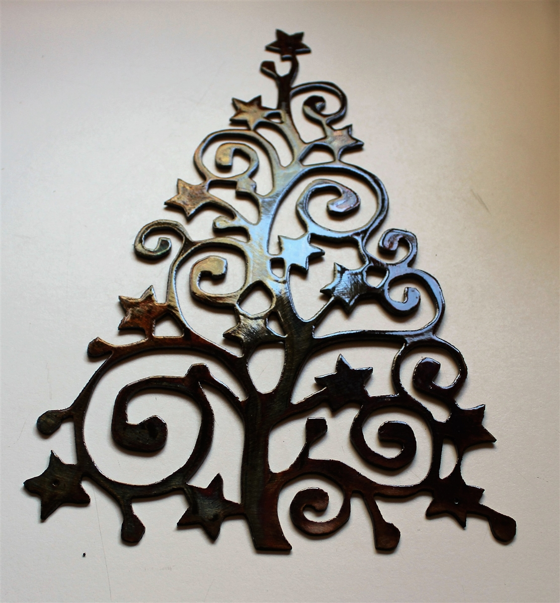 Christmas Decor Metal Art