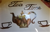 Tea Time Set Metal Wall Art Decor Copper/Bronze Plated