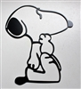 Thinking Snoopy Metal Art