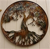 "Tree of Life Metal Wall Art 24"" by HGMw"