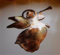 Trumpeting Angel Metal Art