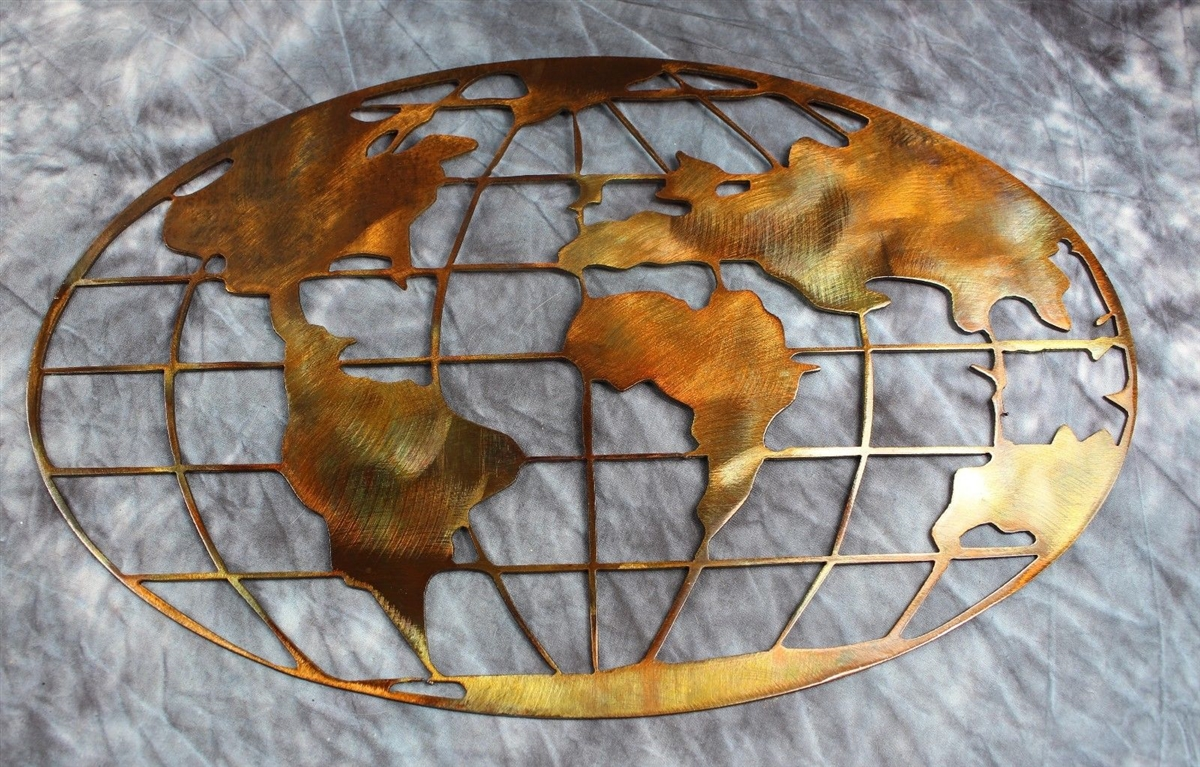 Email metal art world map copperbronze gumiabroncs