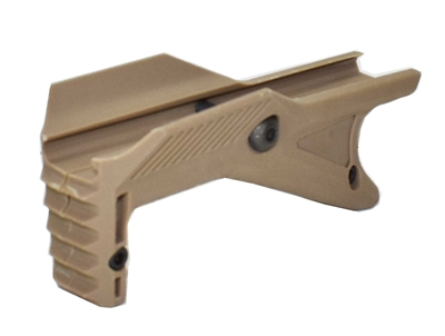 Tactical grip handle tan for paintball markers.