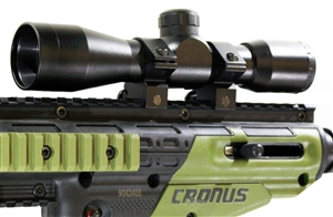 Weaver Mounted Green dot sight With Pressure Switch.