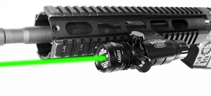 Trinity weaver mounted green dot sight with pressure switch paintball optics woodsball paintballing gear.