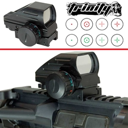 Trinity reflex sight for tactical paintball marker woodsball paintballing optic upgrade.