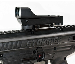Trinity Polymer red dot sight for Tippmann Stormer paintball marker.