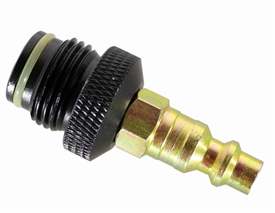 Trinity air compressor adapter for low pressure paintball markers tournament paintballing accessory.