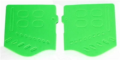 Trinity soft ear piece for jt goggles green tournament painballing paintballer gear.