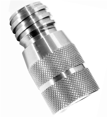Trinity stainless steel co2 tank adapter for soda maker sparkle water soda water seltzer water carbonated water adapter.