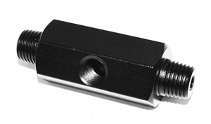 Trinity co2 fill station nipple adapter aluminum black.