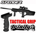 Trinity tactical vertical grip for bt dfender paintball marker woodsball paintballing equipment.