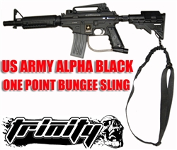 TRINITY Bungee Single Point Sling For US ARMY Alpha Black Elite.