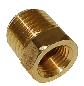 "1/4""MPT X 1/8"" FPT Hex Bushing Reducer/FB402"