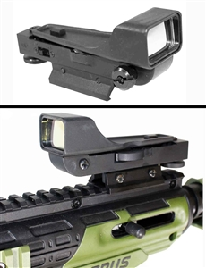 Tippmann cronus red dot sight aluminum black paintballing optics woodsball accessory.