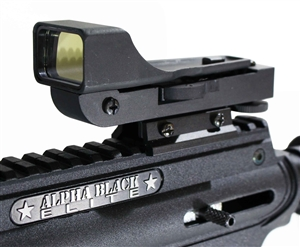 Trinity red dot sight for tippmann alpha black elite paintball marker paintballing woodsball optics.