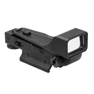 Black Aluminum Red Dot Reflex Sight For Tactical Markers.