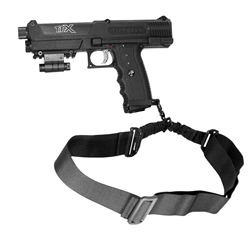 Trinity tactical one point sling black for tippmann tipx paintball marker paintballing woodsball gear.