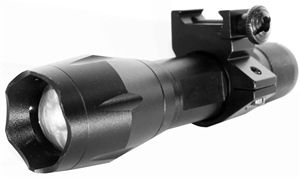 TRINITY 1200 lumen Strobe LED 3 Modes Flashlight.
