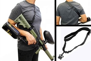 Trinity tactical sling for tippmann cronus marker paintballing woodsball gear.