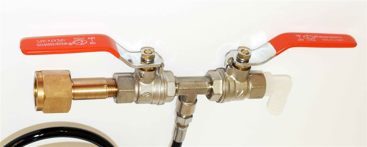 CO2 Dual Valve Fill Station For Paintball Tanks