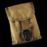 Notebook Pouch Tan CORDURA® fabric 5 1/2 in x 7 in