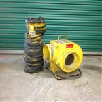 Manhole Blower w/ vent tube