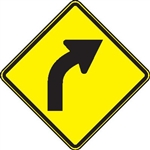 Right curve