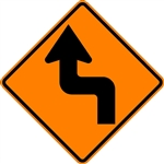 Reverse Turn Arrow (Left)