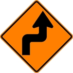 Reverse Turn Arrow (Right)