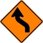 Reverse Curve Arrow (Left)
