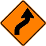 Reverse Curve Arrow (Right)