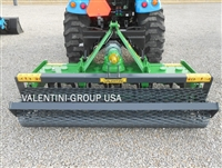 "Valentini TG1600, 64"" Power Harrow & Mesh Roller"