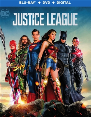 Justice League 01/18 Blu-ray (Rental)