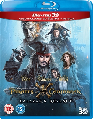 Pirates of the Caribbean: Dead Men Tell No Tales 3D Blu-ray (Rental)
