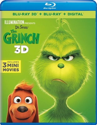 Dr. Seuss' The Grinch 3D 01/19 Blu-ray (Rental)