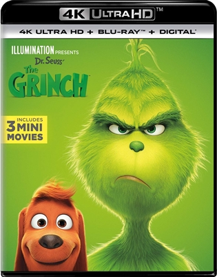 Dr. Seuss' The Grinch 4K UHD 01/19 Blu-ray (Rental)