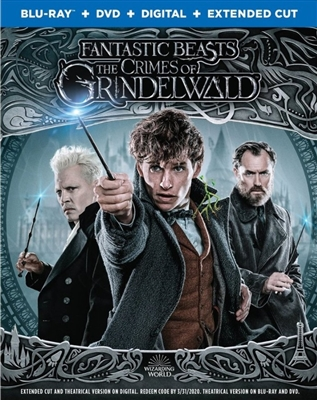 Fantastic Beasts: The Crimes of Grindelwald 01/19 Blu-ray (Rental)