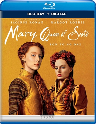 Mary Queen of Scots 01/19 Blu-ray (Rental)